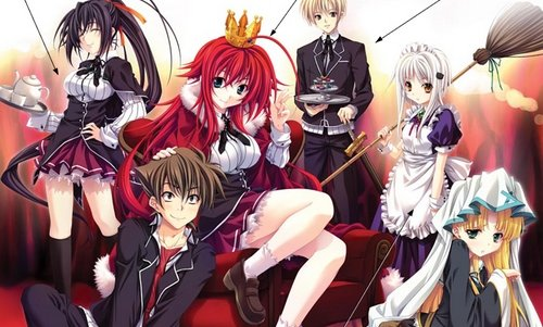 Аниме «High School DxD» Ced9ae718302