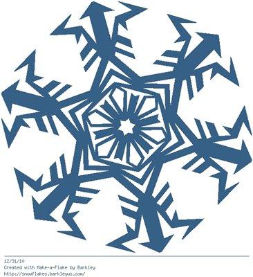 Зимнее рукоделие - вырезаем снежинки! 2b63574faba0