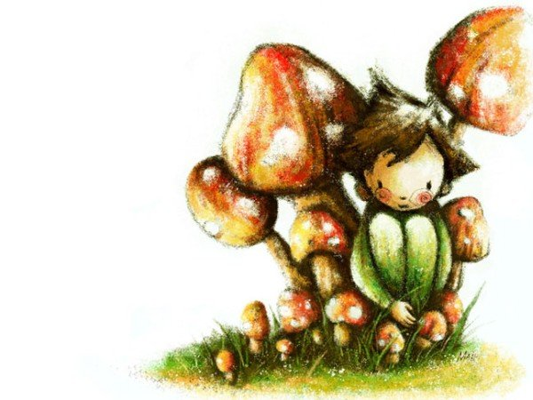 Рисунки детства от May Ann Licudine D3322325056b