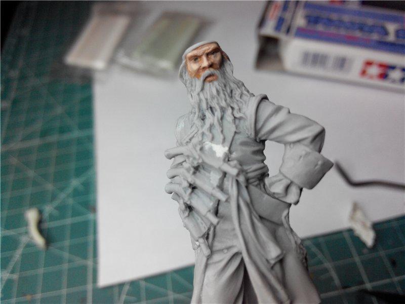 Пират Черная Борода пластик от ПРАПОРА 54мм Eccabf6c484b