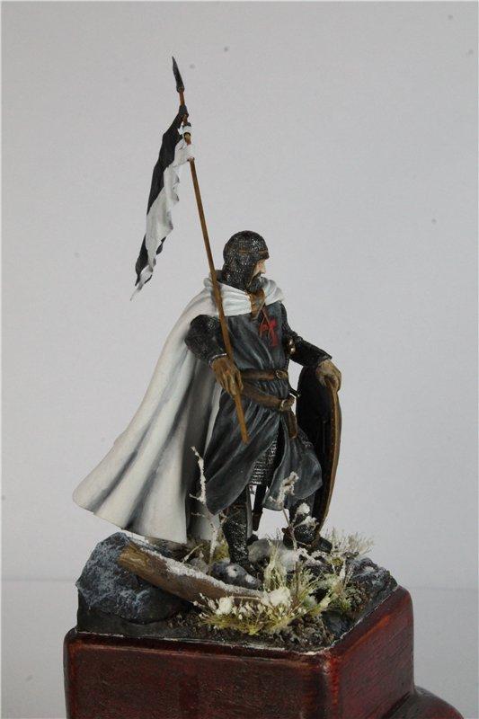 Рыцарь тамплиер 12 век 54мм ПРАПОР 30aadb12371f