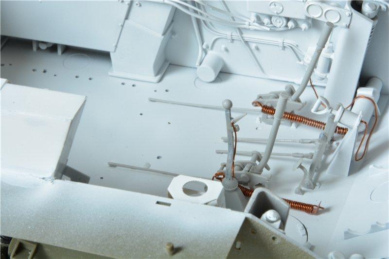 Т-34/85 model 1944г. Factory №. 174 маштаб 1/16 Trumpeter 7724c5057bba