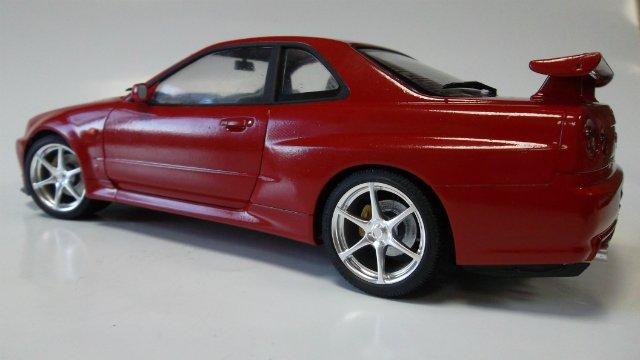 Nissan Skyline GT-R, 1/24, (Tamiya 24210) 1a5dd25f1d2d