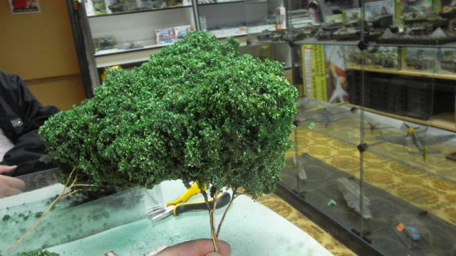 Деревья для диорам (возможные варианты). 0eadeb5d7697