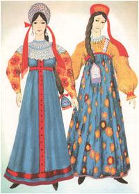 Русские национальные костюмы 0e6cc21174dc