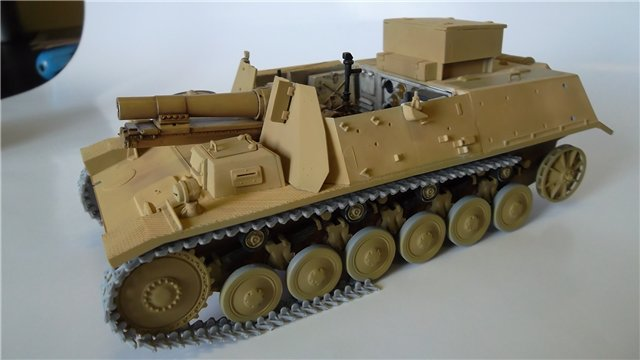 15 cm sIG auf Fahrgestell Pz II или Sturmpanzer II, 1/35, (ARK 35012) D5036c2128b5