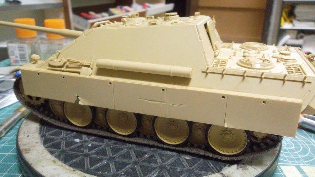 Jagdpanther, 1/35, («Tamiya» 35203). 2e99f0275f56