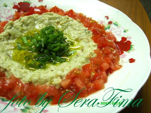 Мтаббаль. Дип из печеного баклажана. Арабская кухня 983471d7d0b4