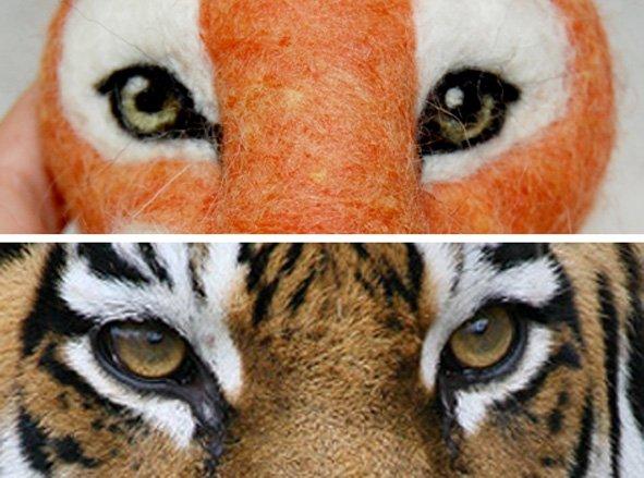 Чудо мастер класс по сухому валянию тигра, мастера - Лазаревой Анастасии 1d61f1cbc703