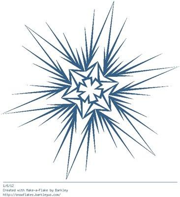 Зимнее рукоделие - вырезаем снежинки! - Страница 9 De1e72982bc0