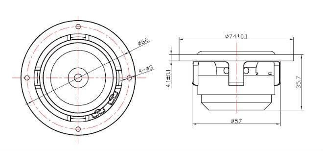 Altoparlanti Full Range Fountek FE50, FR135EX, in alluminio/neodimio 364190953_612