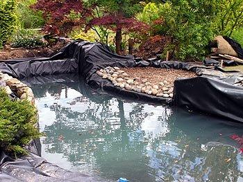 Montando um lago Ornamental 20_x_100_Pond_Liner_45Mil_EPDM