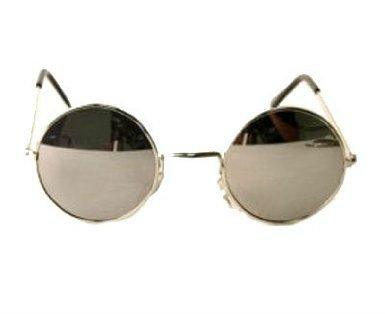 le strane mode - Pagina 2 John_Lennon_Silver_Round_Frame_Sunglasses_Silver