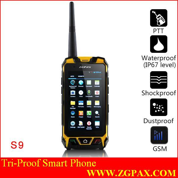 telephone mobile robuste ZGPAX_S9_Tri_proof_smart_phone_Communication