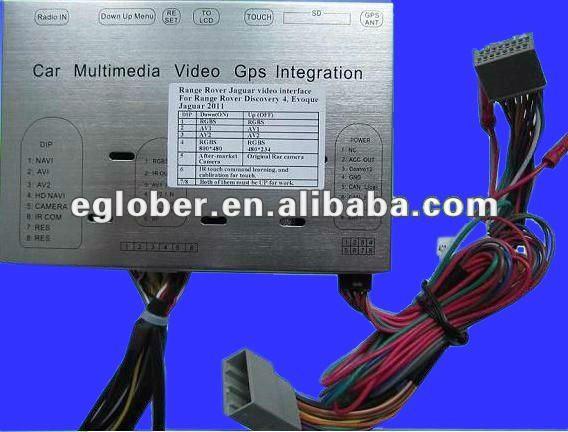 Navegador y television para Evoque Range_Rover_Evoque_video_gps_navigation