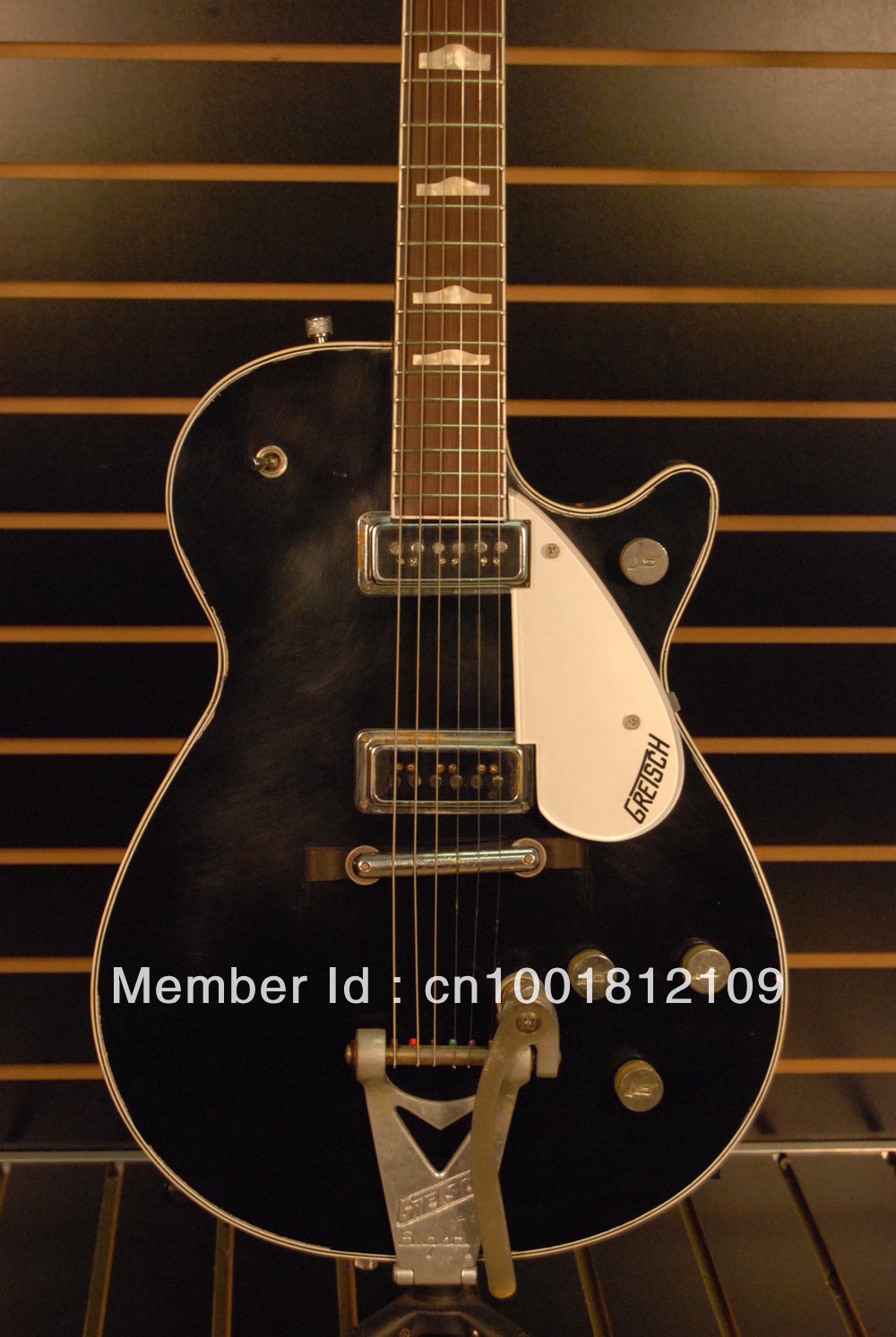 "Attention  fausses Gretsch ""be careful Fake"" Gretsch-G6128T-GH-George-Harrison-TRIBUTE-Custom-Shop-Duo-Jet"