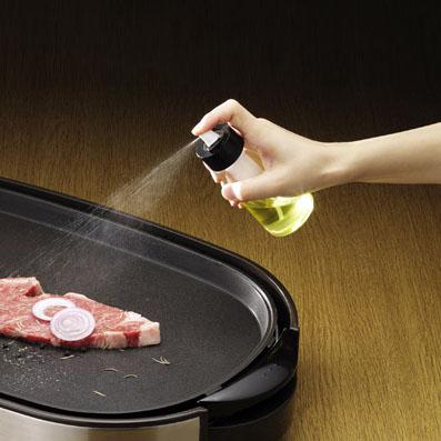 plat resine Fnjeetion-glass-pot-pneumatic-edible-oil-bottle-fuel-injector-font-b-spray-b-font-font-b
