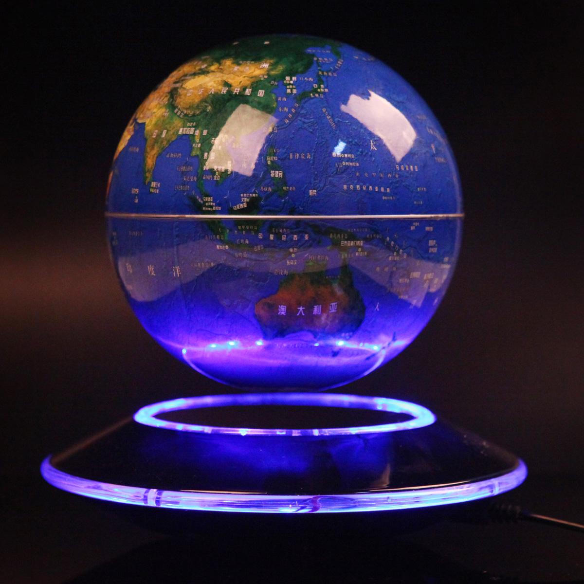 Pildijaht Quality-magnetic-levitation-font-b-globe-b-font-6-business-gift-flying-saucer-oxygen-font-b