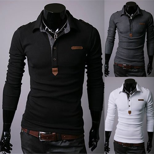 பாருங்கப்பா என்ன அழகு  - Page 2 Men-s-Long-sleeved-Shirt-Fashion-Slim-Simple-Design-Polo-T-Shirt-New-Shirts-for-Men