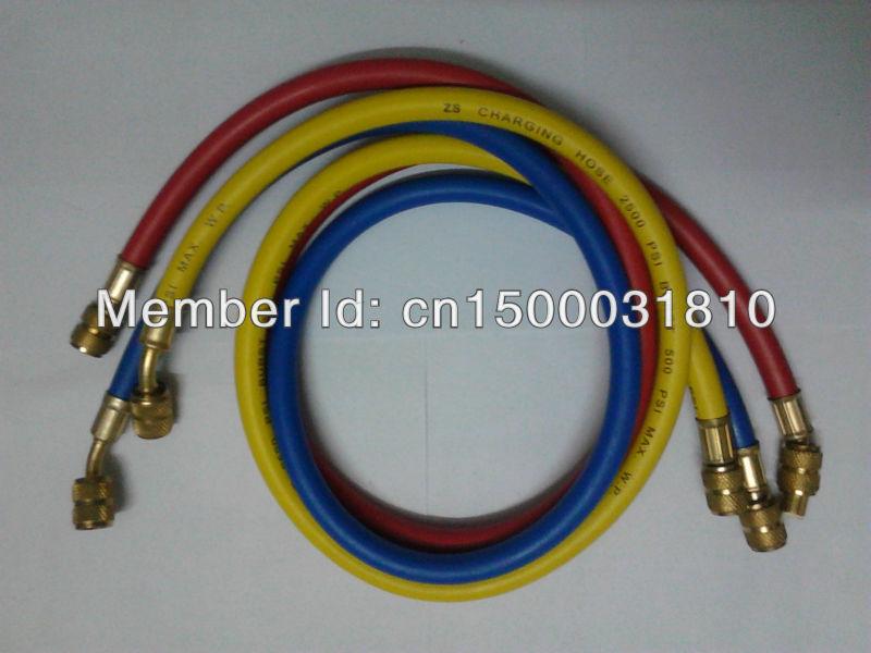 [Tuto] démontage pompe à essence, Nettoyage du réservoir. 1-4-SAE-90CM-500-2500PSI-standard-colored-refrigerant-font-b-freon-b-font-charging-hose