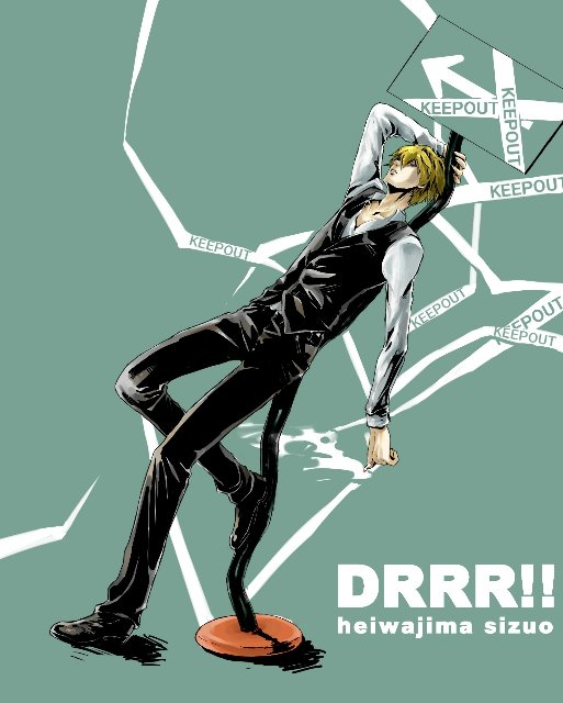 Арт по аниме «Дюрара!» (Durarara!!) 0c040ee1e394