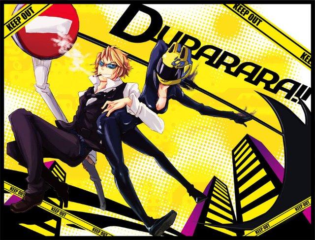 Арт по аниме «Дюрара!» (Durarara!!) A14904de4c93