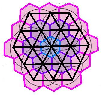 Магический числовой шестиугольник 2c5b7a0a08f8