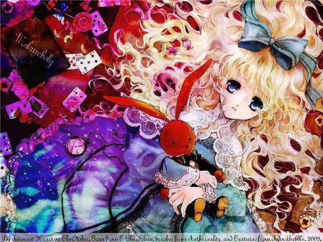 Арты на тему: 'Alice in Wonderland' F21fca2675d6