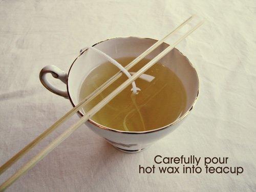 Как сделать свечу в чашке 111513816145