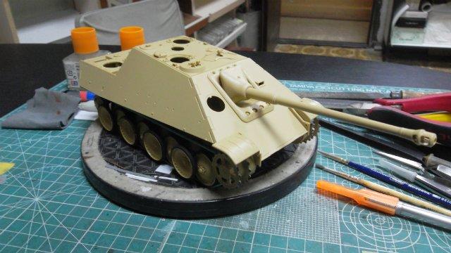 Jagdpanther, 1/35, («Tamiya» 35203). 2b2144cbb61a