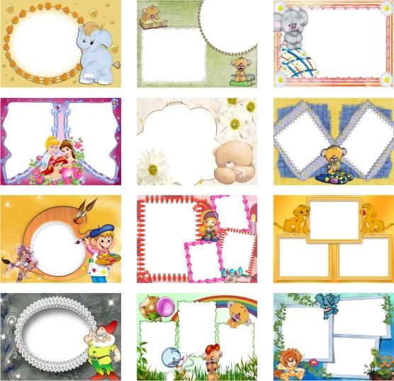اطارات خلفية لبرنامج فوتوشوب لكل المناسبات (frames for photoshop) Cda47b224709