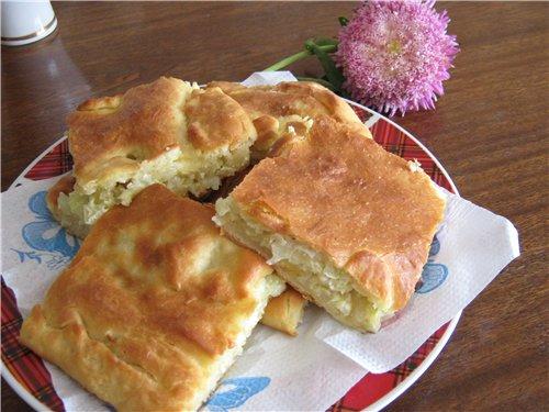 Пирожки и пироги с капустой 4a90fd8f5d7f