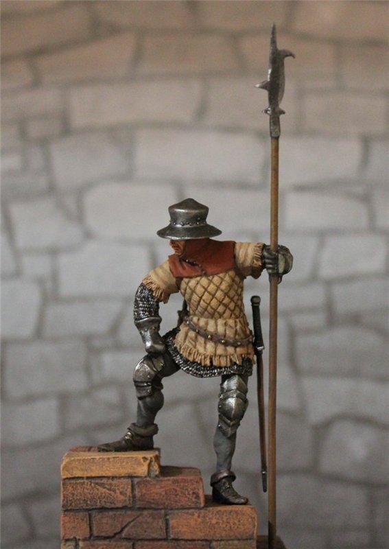 Солдат гарнизона стражи,Англия,15 век. Автор: Дмитрий Фурсов, г. Тамбов. 24f0603a81e2