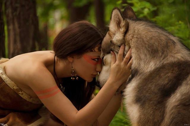 """Медитация """"Женщина -волчица""""  Ecf9a4e12b2c"""