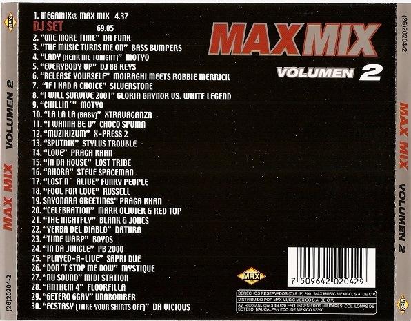 Max Mix - Vol 02  (Max Music Mexico) [2001] C73cd24ae3f6
