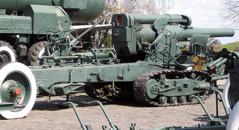 Советская 203-мм гаубица Б-4 1/35 (Alan №3522) 722f0e88bd2a