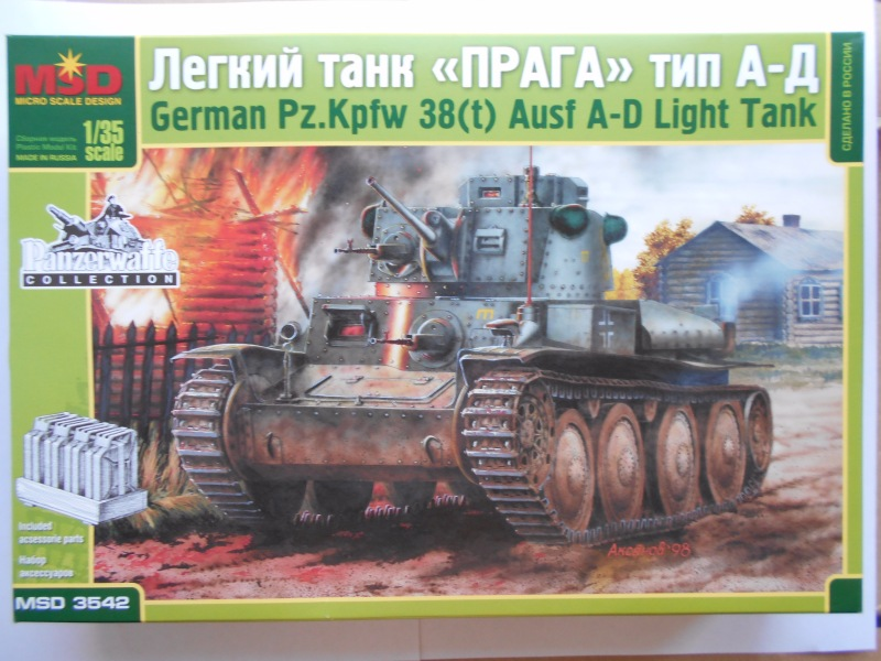 Обзор German Pz.Kpfw 38-t Ausf A-D (MSD №3542) 6ede983a68b8