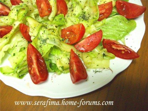 Салат с мариноваными кабачками 81e25084e8f0