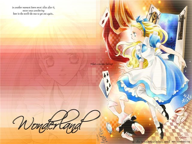 Арты на тему: 'Alice in Wonderland' 14dada6f54f6