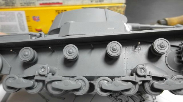 Т-26 обр. 1939 г. 1/35, (Mirage hobby 35309). 188be1a9e1dc