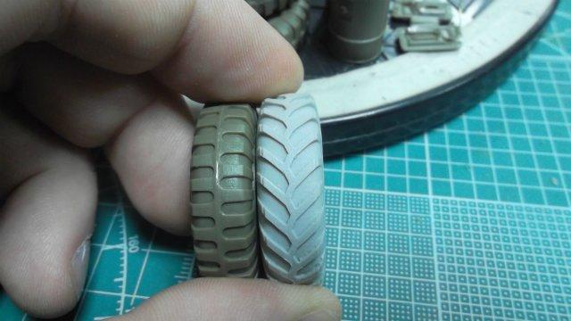Staghound T17E1, 1/35, (Bronco 35011). 47cd183dae54
