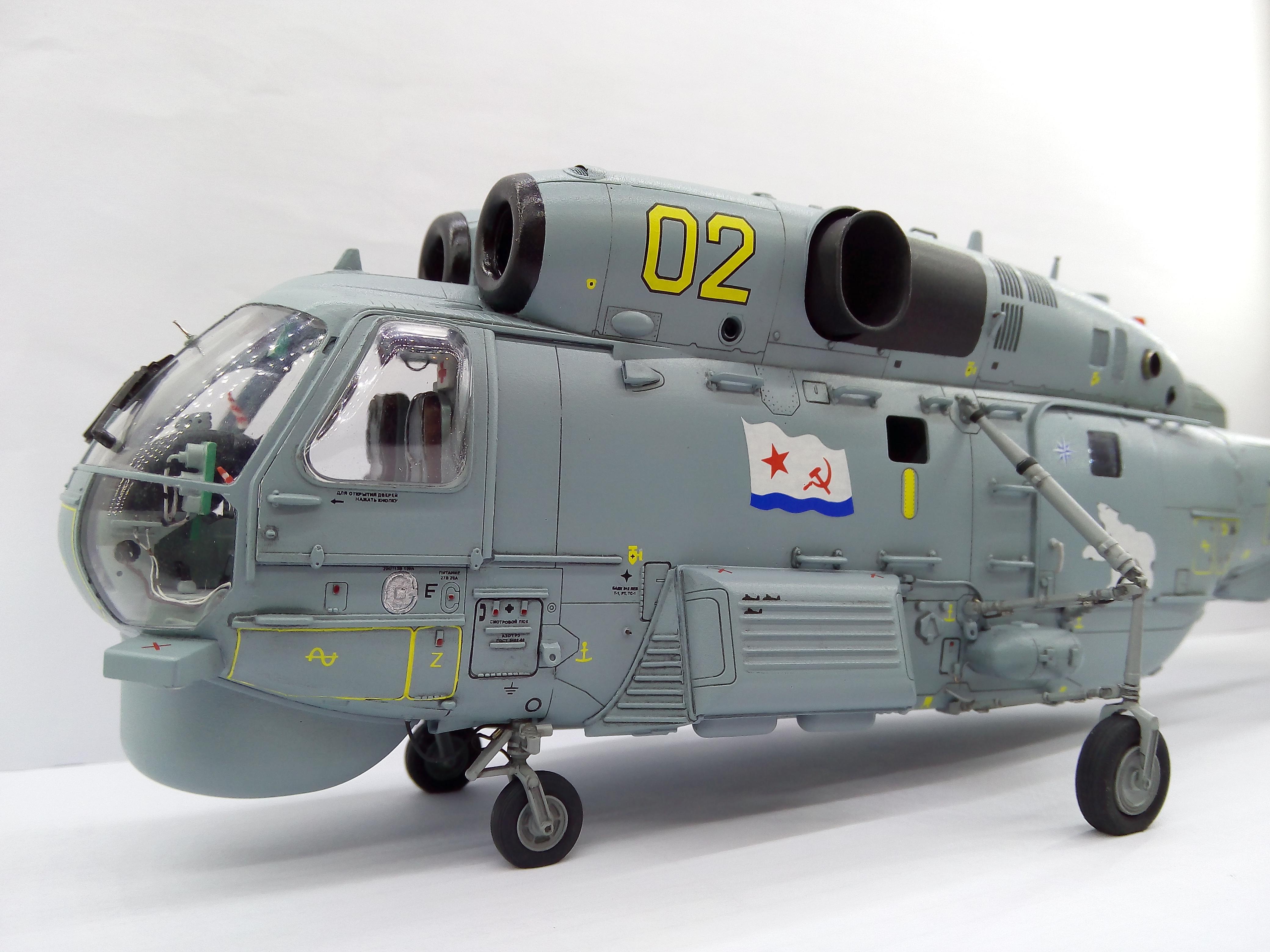 Ка-27ПЛ 1/48 HOBBYBOSS - Страница 3 145cd0c703a6
