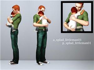 Детские позы, позы с детьми - Страница 5 58f9ef574993
