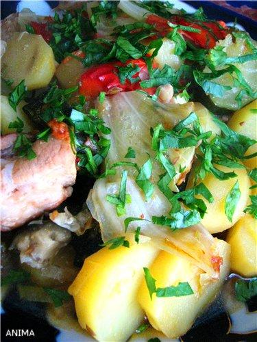 Блюда с овощами, фаршированные овощи  и др. Ff0726368706