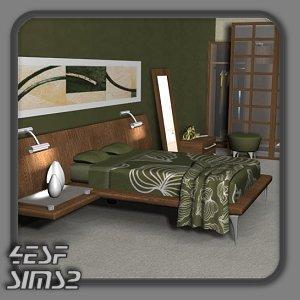 Спальни, кровати (модерн) D4d929db7bd4t