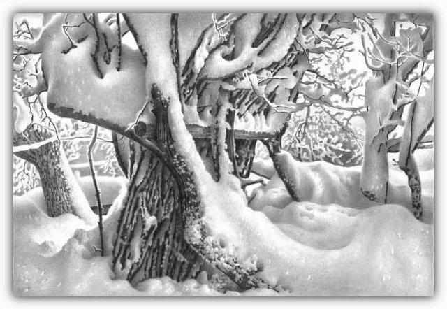 Снег, согревающий душу (Доленджашвили Г.) 6a255977aacb