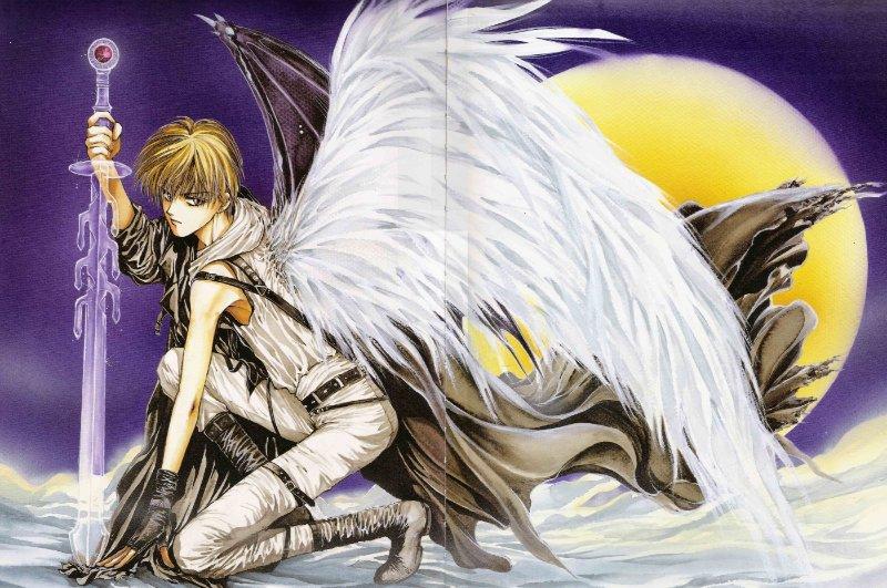Арты на тему : Ангелы D7bede356bde