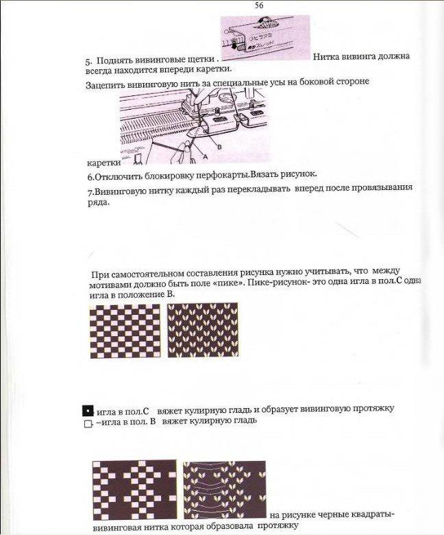 Начальный курс по обучению вязания на вязальной машине SILVER REED   - Страница 4 A4d9b6ec728c