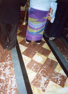 Кресты на полу храмов 150629faf19d