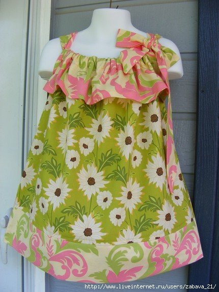 Сшить платье девочке- ПРОСТО! 0a7bd424b752
